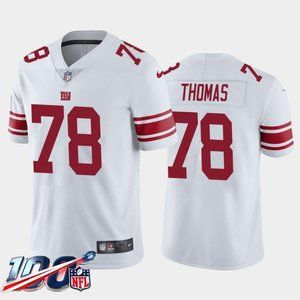 New York Giants Andrew Thomas White Jersey